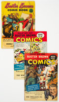 Golden Age (1938-1955):Adventure, Buster Brown Comics (1st series - 1945-59 giveaways) Group of 6(Brown Shoe Co., 1946-54) Condition: Average VG.... (Total: 6 )