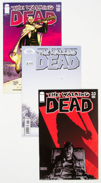 The Walking Dead Group (Image, 2004-10) Condition: Average NM-.... (Total: 30 )