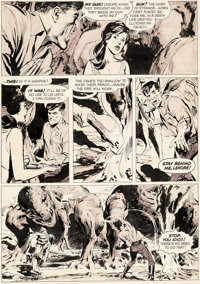 Neal Adams Creepy #15 Story Page 7 Original Art (Warren, 1967)
