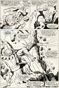 Original Comic Art:Panel Pages, John Buscema and George Tuska The Avengers #47 Story Page 2 Original Art (Marvel, 1967)....
