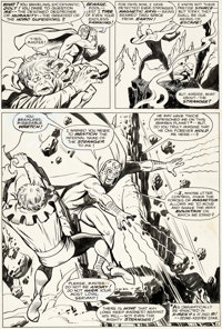 John Buscema and George Tuska Avengers #47 Story Page 2 Original Art (Marvel, 1967)