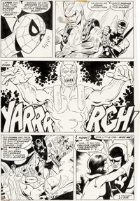 John Byrne and Dave Hunt Marvel Team-Up #60 Issue Page 30 Original Art (Marvel, 1977) Condit