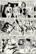 Original Comic Art:Panel Pages, Don Heck and Frank Giacoia The Avengers #29 Story Page 16 Black Widow and Goliath Original Art (Marvel, 1966)....