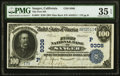 Sanger, CA - $100 1902 Date Back Fr. 691 The First NB Ch. # (P)9308 PMG Choice Very Fine 35 EPQ