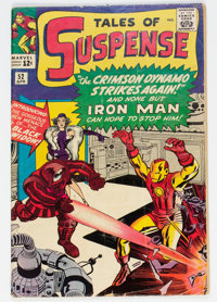 Tales of Suspense #52 (Marvel, 1964) Condition: GD