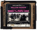 """Movie Posters:Western, Riders of the Purple Sage and Other Lot (Fox, 1918). Fine+. Glass Slides (2) (3.25"""" X 4""""). Western.. ... (Total: 2 Items)"""
