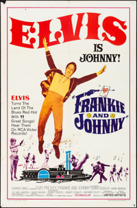 "Frankie and Johnny (United Artists, 1966). Folded, Fine/Very Fine. One Sheet (27"" X 41""). Elvis Presley"