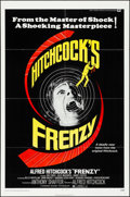 """Movie Posters:Hitchcock, Frenzy (Universal, 1972). Folded, Very Fine-. One Sheet (27"""" X 41""""). Hitchcock.. ..."""