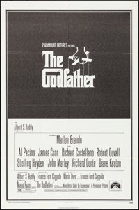 "The Godfather (Paramount, 1972). Folded, Very Fine+. One Sheet (27"" X 41""). S. Neil Fujita Artwork. Crime"