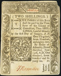 Colonial Notes:Connecticut, Connecticut June 19, 1776 2s Very Fine.. ...