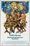 "Movie Posters:War, Kelly's Heroes (MGM, 1970). Folded, Very Fine-. One Sheet (27"" X41"") Jack Davis Artwork. War.. ..."