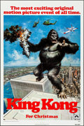 "Movie Posters:Horror, King Kong (Paramount, 1976). Folded, Very Fine. One Sheets (2) (27""X 41"") Advance and Regular Style. John Berkey Artwork. H... (Total:2 Items)"