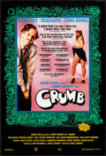 "Movie Posters:Documentary, Crumb (Sony, 1995). Rolled, Very Fine. One Sheet (27"" X 40"") SS, Eric Kroll Photograph. Documentary.. ..."