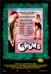 "Crumb (Sony, 1995). Rolled, Very Fine. One Sheet (27"" X 40"") SS, Eric Kroll Photograph. Documentary"