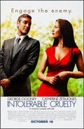 "Movie Posters:Comedy, Intolerable Cruelty & Other Lot (Universal, 2003). Rolled, VeryFine-. One Sheets (3) (27"" X 40"" & 26.75"" X 39.75"") DS Advan...(Total: 3 Items)"