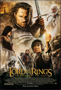 """The Lord of the Rings: The Return of the King (New Line, 2003). Rolled, Very Fine. One Sheet (27"""" X 40"""") DS Ad..."""