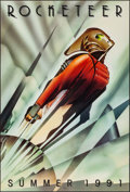 "Movie Posters:Action, The Rocketeer (Walt Disney Pictures, 1991). Rolled, Very Fine/Near Mint. One Sheet (27"" X 40"") SS Advance. John Mattos Artwo..."
