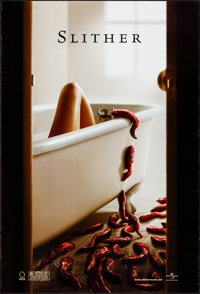 """Slither & Other Lot (Universal, 2006). Rolled, Very Fine. One Sheets (2) (27"""" X 40"""") DS Advance. Horro..."""