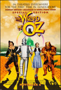 """Movie Posters:Fantasy, The Wizard of Oz (Warner Brothers, R-1998). Rolled, Very Fine. Special Edition One Sheet (27"""" X 40"""") DS Advance. Fantasy.. ..."""