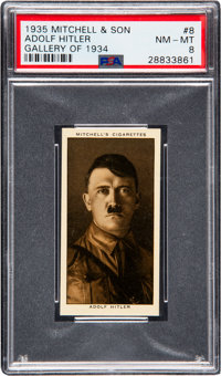 1935 Mitchell & Son Adolf Hitler #8 PSA NM-MT 8