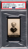 Non-Sport Cards:Singles (Pre-1950), 1901 Ogden's Sir Wilfred Laurier #18 PSA NM-MT+ 8.5 - Pop One, None Higher. ...