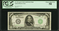 Fr. 2211-D $1,000 1934 Dark Green Seal Mule Federal Reserve Note. PCGS Choice About New 58