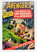 Silver Age (1956-1969):Superhero, The Avengers #3 (Marvel, 1964) Condition: GD+....