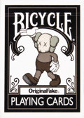 Collectible:Contemporary, KAWS X Bicycle. Playing Cards, 2010. Complete set of 52 playing cards. 3-1/2 x 2-1/2 x 1/2 inches (8.9 x 6.4 x 1.3 cm). ...