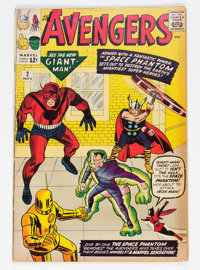 The Avengers #2 (Marvel, 1963) Condition: VG