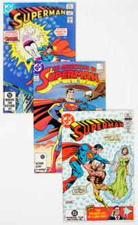 Superman-Related Short Box (DC, 1982-93) Condition: Average VF/NM