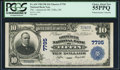 National Bank Notes:Ohio, Tiffin, OH - $10 1902 Plain Back Fr. 624 The Commercial NB Ch. #7795 PCGS Choice About New 55PPQ.. ...