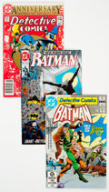 Modern Age (1980-Present):Superhero, Batman Related Short Box (DC, 1982-93) Condition: Average NM-....