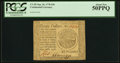 Colonial Notes:Continental Congress Issues, Continental Currency September 26, 1778 $20 PCGS About New 50PPQ.....