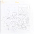 Animation Art:Concept Art, Pinocchio CD Cover Preliminary Illustration and Concept Art (Walt Disney, c. 1990s).. ... (Total: 2 Items)