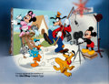 "Animation Art:Seriograph, ""Disney/CalArts"" Mickey Mouse and Friends Limited Edition Sericel (Walt Disney, 1991)...."