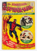 Silver Age (1956-1969):Superhero, The Amazing Spider-Man #8 (Marvel, 1964) Condition: GD....