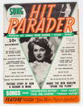 Magazines:Miscellaneous, Hit Parader V1#1 (Charlton Publications, 1942) Condition: GD/VG....