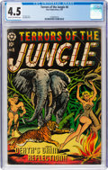 Golden Age (1938-1955):Adventure, Terrors of the Jungle #8 (Star Publications, 1954) CGC VG+ 4.5Cream to off-white pages....