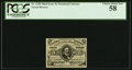 Fractional Currency:Third Issue, Fr. 1238 5¢ Third Issue PCGS Choice About New 58.. ...