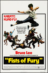 "The Big Boss (National General, 1972). Folded, Very Fine. One Sheet (27"" X 41""). U.S. Title: Fists of Fury. Ac..."