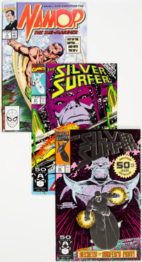 Namor/Silver Surfer Box lot (Marvel, 1990-93) Condition: Average NM-