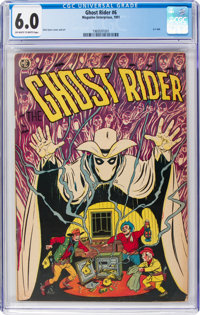 Ghost Rider #6 (Magazine Enterprises, 1951) CGC FN 6.0 Off-white to white pages