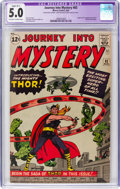 Silver Age (1956-1969):Superhero, Journey Into Mystery #83 (Marvel, 1962) CGC Apparent VG/FN 5.0Slight (B-1) Off-white to white pages....