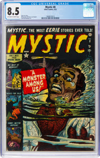 Mystic #8 (Atlas, 1952) CGC VF+ 8.5 Off-white to white pages