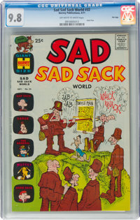 Sad Sad Sack World #32 File Copy (Harvey, 1971) CGC NM/MT 9.8 Off-white to white pages