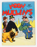 Golden Age (1938-1955):Miscellaneous, Large Feature Comic (Series I) #29 Moon Mullins - File Copy (Dell, 1942) Condition: FN....