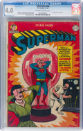 Golden Age (1938-1955):Superhero, Superman #68 (DC, 1951) CGC VG 4.0 Off-white to white pages....