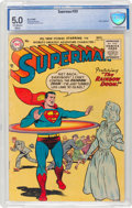 Golden Age (1938-1955):Superhero, Superman #101 (DC, 1955) CBCS VG/FN 5.0 Off-white to whitepages....