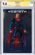 Modern Age (1980-Present):Superhero, Superman #1 Convention Edition - Signature Series (DC, 2016) CGCNM+ 9.6 White pages....
