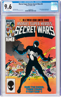Marvel Super Heroes Secret Wars #8 (Marvel, 1984) CGC NM+ 9.6 White pages